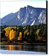 Fall At Lake Estes Canvas Print