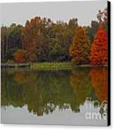 Fall At Tom Brown Park Canvas Print