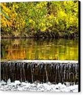 Fall Falls Canvas Print by Baywest Imaging
