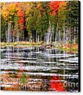 Fall In Maine Canvas Print by Arie Arik Chen