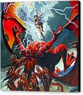Fall Of The Hydra Canvas Print