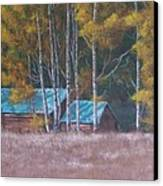Fall On The Ranch Canvas Print