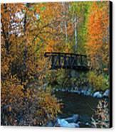 Fall River Canvas Print by Dana Kern