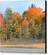 Fall Splender Canvas Print by Rhonda Humphreys