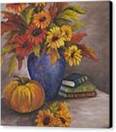 Fall Still Life Canvas Print
