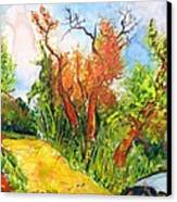Fall2014-10 Canvas Print by Vladimir Kezerashvili