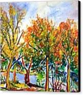Fall2014-12 Canvas Print by Vladimir Kezerashvili