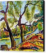 Fall2014-2 Canvas Print by Vladimir Kezerashvili