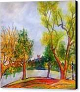 Fall2014-5 Canvas Print by Vladimir Kezerashvili