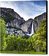 Falls Of The Valley Canvas Print