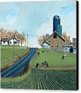 Family Dairy Canvas Print