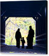 Family Time Canvas Print by Bill Cannon