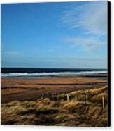 Fanore Beach Canvas Print by Peter Skelton