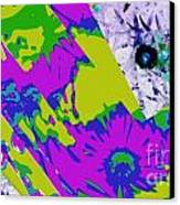 Fantasi Violaflori Canvas Print by Halina Nechyporuk