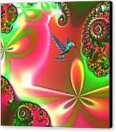 Fantasia Canvas Print by Sharon Lisa Clarke