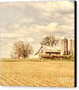 Farm And Fields  Canvas Print