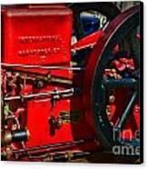 Farm Equipment - International Harvester Feed And Cob Mill Canvas Print