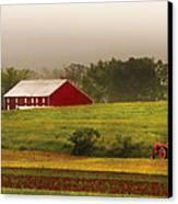 Farm - Farmer - Tilling The Fields Canvas Print by Mike Savad