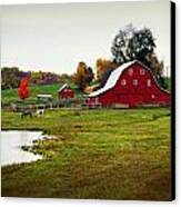 Farm Perfect Canvas Print by Marty Koch
