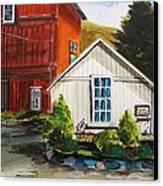Farm Store Canvas Print