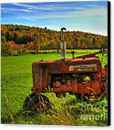 Farmall Canvas Print by Alana Ranney