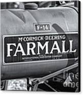 Farmall F-14 Tractor II Canvas Print
