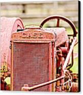 Farming Relic Canvas Print
