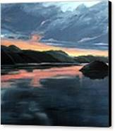 Farsund Sunrise Canvas Print