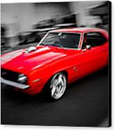 Fast Camaro Canvas Print by Phil 'motography' Clark