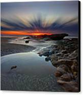 Fast Light Canvas Print by Mark Leader