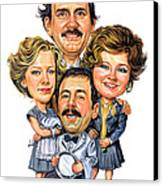 Fawlty Towers Canvas Print by Art
