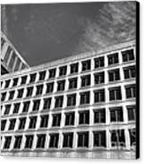 Fbi Building Side View Canvas Print by Olivier Le Queinec
