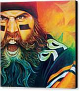 Fear Da Beard Canvas Print by Scott Spillman