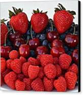 Feast Of Fruit Canvas Print by Frozen in Time Fine Art Photography