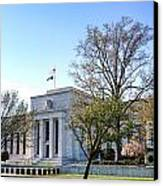 Federal Reserve Building Canvas Print by Olivier Le Queinec
