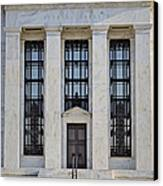 Federal Reserve Canvas Print by Susan Candelario