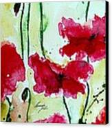 Feel The Summer 2 - Poppies Canvas Print