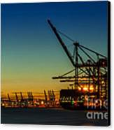Felixstowe Docks Canvas Print by Svetlana Sewell