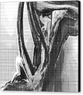 Female Torso 2 Canvas Print