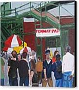Fenway Park Spring Time Canvas Print