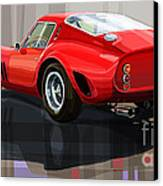 Ferrari 250 Gto Canvas Print by Yuriy Shevchuk
