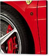 Ferrari Emblem 3 Canvas Print by Jill Reger