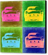 Ferrari Front Pop Art 3 Canvas Print by Naxart Studio