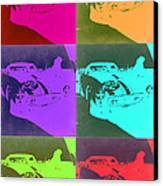 Ferrari Gto Pop Art 3 Canvas Print by Naxart Studio