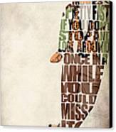 Ferris Bueller's Day Off Canvas Print by Ayse Deniz