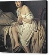 Fiamminghi, Giacomo 1815 - 1895. Love Canvas Print
