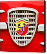 Fiat Emblem Canvas Print by Jill Reger