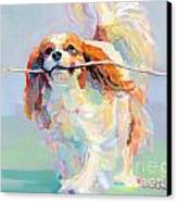 Fiddlesticks Canvas Print by Kimberly Santini