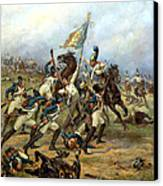 Fight For The Banner Canvas Print