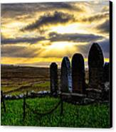 Final Rest On The Isle Of Skye Canvas Print by Mark E Tisdale